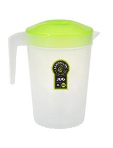 Lemon and Lime 2L Pitcher Jug W/ Lid - Green