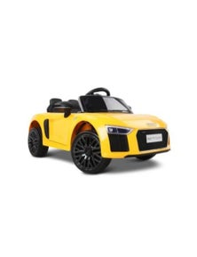 Kids Ride On Car Yellow