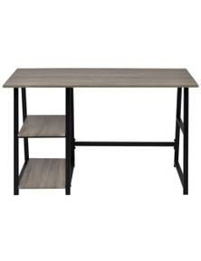 Desk With 2 Shelves
