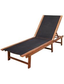 Sun Lounger Acacia Wood
