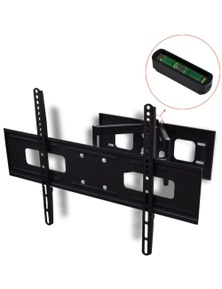 3D Double-Armed Tilt Swivel Wall TV Bracket