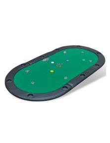 10-Player Fold-able Poker Tabletop