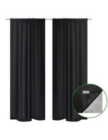 Blackout Curtains Double Layer (2 Pieces)