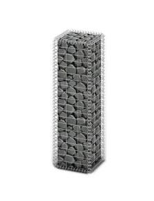 Galvanized Wire Gabion Basket Wall With Lids