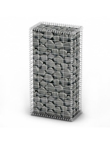 Gabion Basket Wall with Lids