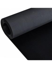 Fine Ribbed Anti-Slip Rubber Floor Mat