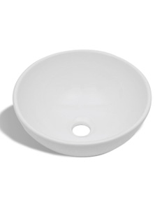 Ceramic Bathroom Sink Basin Round