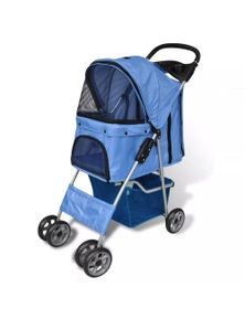 Folding Pet Stroller Travel Carrier For Dog / Cat