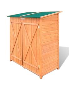 Large Wooden Tool Storage Room