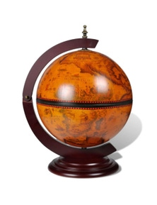 Globe with Embowed Wine Liquor Stand