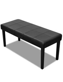 High Quality Artificial Leather Bench