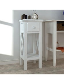 Telephone Side Table with Drawer