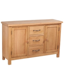Large Sideboard with 3 Drawers