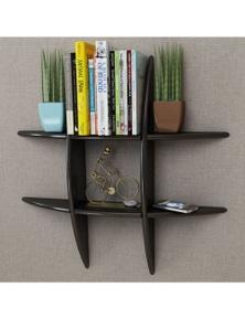 MDF Floating Wall Display Shelf Book Storage