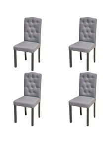 Fabric Dining Chairs (Set of 4)