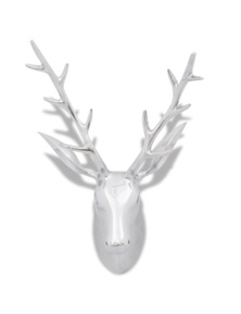 Aluminum Wall Mounted Deer's Head Decoration