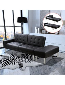 Artificial Leather Sofa Bed