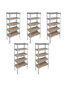 Storage Rack Garage Storage Shelf (5 Pieces)