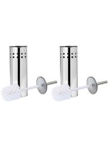 Box Sweden 2PK Box Sweden Toilet Brush - Stainless Steel