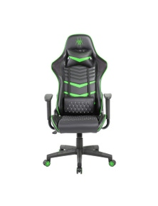 Pure Acoustics Spider Iron Gaming Chair - Black/Green