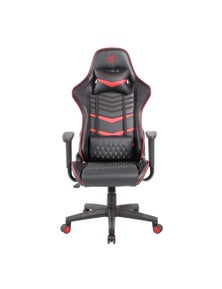 Pure Acoustics Spider Iron Gaming Chair - Black/Red