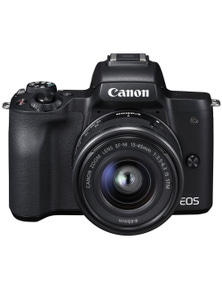 Canon EOS M50 Camera Body with EFM15-45mm f/3.5-6.3 IS STM Camera Lens