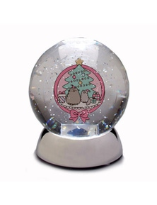 Pusheen Waterdazzler Globe - Christmas