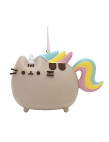 Pusheen PVC Hanging Ornament - Magical Unicorn