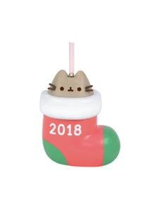 Pusheen Xmas PVC Hanging Ornament - Stocking Surprs