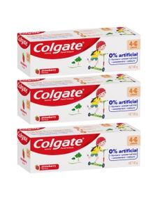 Colgate 80g Anticavity Fluoride Kids 4-6 Years BluetoothpasteStrawberry 3PK