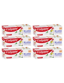 Colgate 80g Anticavity Fluoride Kids 4-6 Years BluetoothpasteStrawberry 6PK
