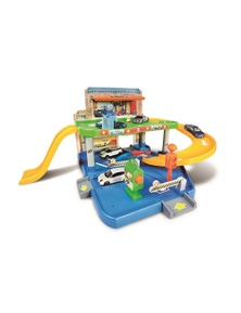 Bburago Street Fire 1 43 Auto Service Playset