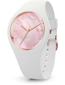 Ice Pearl White Pink Small