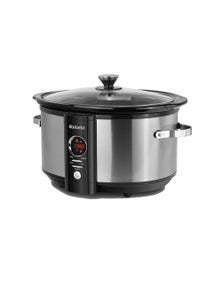 Brabantia Digital Slow Cooker - Stainless Steel 6.5L
