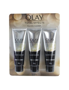 Olay 100g Total Effects Foaming Cleanser 3PK