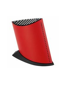 Global Red Ship Shape Knife Block