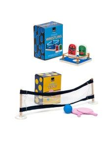 Salt & Pepper Finger Games Combo Table Tennis & Wrestling 2Pk