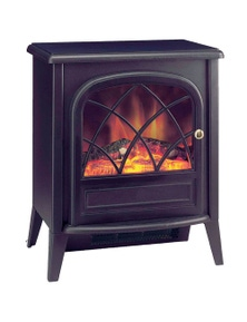 Dimplex Ritz-C Electric Fireplace Heater with Flame and Smoke Effect