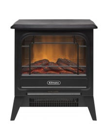 Dimplex 1.2kW Micro Stove Electric Fire - Black