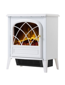 Dimplex Ritz White 2000KW Electric Fireplace/Stove