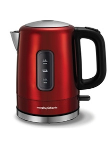 Morphy Richards Accents 1L Red Stainless Steel Kettle