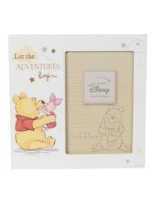 Disney Let the Adventures Begin Pooh Frame (4x6)