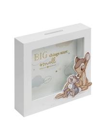 Disney Bambi Big Things Start Small MDF Money Bank