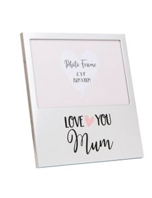 Mothers Day Gifts Love You Aluminium Photo Frame - Mum