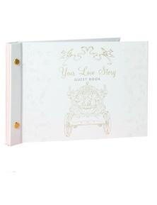 Disney Cinderella & Prince Guest Book Wedding Album