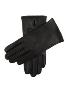 DENTS James Bond Unlined Leather Gloves BlackWinter Gift Made In Czech Republic
