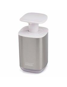 Joseph Joseph Presto Steel Soap Dispenser - White