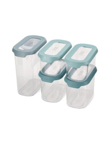 Joseph Joseph Cupboardstore 5-Piece Food Storage Set