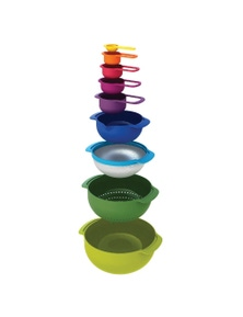 Joseph Joseph Nesting Set 9 Plus - Multicoloured