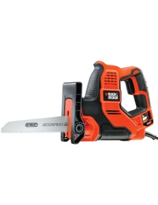 BLACK+DECKER 500W Scorpion Corded Hand Saw with Autoselect Technology